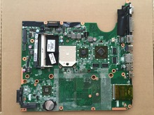 Wholesale NEW Original laptop motherboard for HP Pavilion DV6-2000 571187-001 DAUT1AMB6E1 AMD Socket S1 HD4530/1G Fully Tested