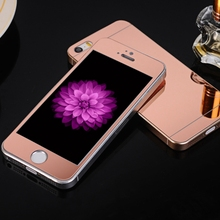 0 3mm 2pcs Front Back Tempered Glass for font b iPhone b font 4 4s 5
