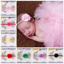 H20  (20pcs/lot ) Girl Head Accessories hairband Top fashion soft headband elastic flower headband ,fancy headband