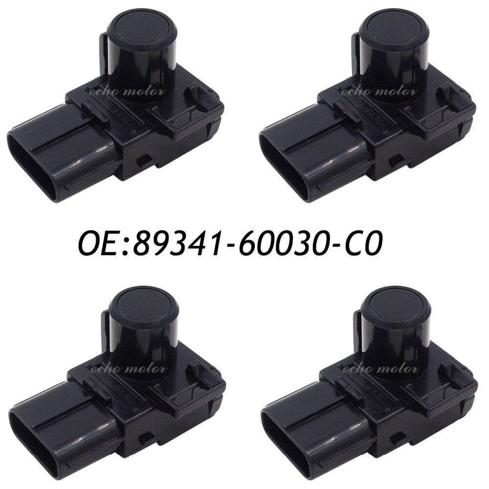 New 4PCS 89341-60030-C0 89341-60030 Parking PDC Ultrasonic Sensor For Toyota Land Cruiser Prado 2012-2013 188400-2000 <br><br>Aliexpress