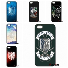 For Xiaomi Redmi Note 2 3 3S 4 Pro Mi4i Mi4C Mi5S Mi MAX iPod Touch 4 5 6 Anime Attack on Titan Scouting Legion Logo Phone Case