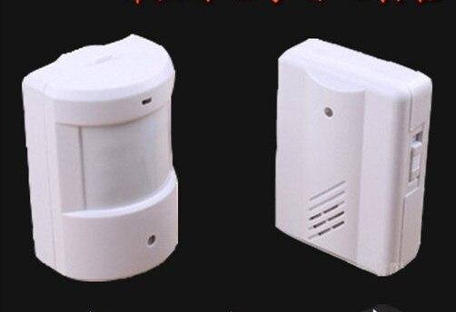 Doorbell Wireless Infrared Monitor Sensor Detector Entry Door Bell Alarm Chime<br><br>Aliexpress