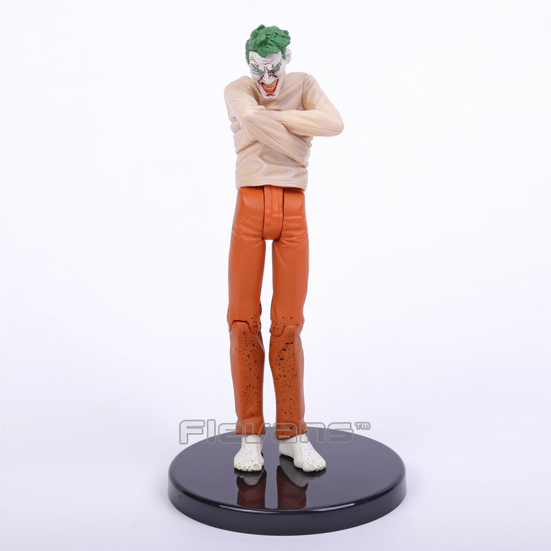 Batman Arkham Asylum The Joker Sick PVC Action Figure Collectible Model Toy 17cm<br><br>Aliexpress