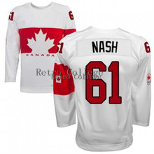 throwback #61 RICK NASH Team Canada Hockey jersey ANNIVERSARY Customize any size player name number(China)