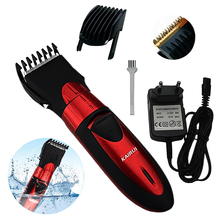 Pro Electric Hair Clipper Rechargeable Hair Trimmer Hair Cutting Machine To Haircut Beard Trimer Waterproof #HC001(China)