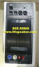 Subwoofer Speaker Amplifier Board RMS 1200W Class D Amplifier Plate Built in DSP module with Aluminum Radiator(China)