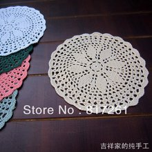 2015 new arrival ZAKKA fashion 6 pic/lo fabric doilies as innovative item for kitchen heat pad vase mat pad for home decor mats