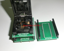 Free shipping CHIP PROGRAMMER SOCKET TQFP32 QFP32/ LQFP32 TO DIP28 DIP32(China)