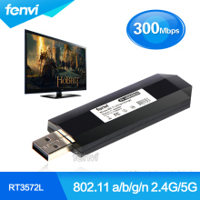 2.4G/5G 300Mbps 802.11 a/b/g/n USB TV Network Card wireless modem for Samsung Smart TV instead of WIS12ABGNX WIS09ABGN