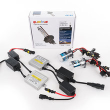 HID xenon lights kit H4 with halogen lamp 55W Canbus slim ballast kit 4300K 5000K 6000K 8000K 10000K xenon H4