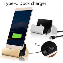 USB 3.1 Type C Dock Station Charger Cradle for Huawei Honor 8 V8 V9 P9 P10 Plus Samsung Galaxy S8 A3 A5 A7 (2017) A320 A520 A720