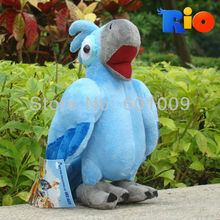 "Free Shipping The Movie RIO Character Blu Plush Toy 8"" Parrot Bird Stuffed Animal Soft Doll Retail"