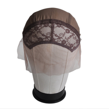 Lace Front Wig Cap For Making Wigs With Adjustable Strap on The Back Weaving Cap More Color to Choose Customize Your Own Style(China)