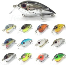 wLure Fishing Lure Crankbait Hard Bait Tight Wobble 7.6cm 14g Hard Bait C627(China)