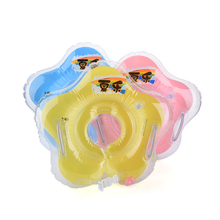baby Gear Swimming Pool & Accessories swimming swim neck ring baby Tube Ring Safety infantfloat circle bathing Inflatable Drop(China)