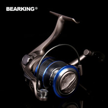 Bearking Brand 2017 Ninjia series New Super Light Weight Body Max Drag 12KG Carp Lure Fishing Reel Spinning Reel Free Shipping
