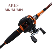 L TAIYU Ares Carbon Fishing Lure Rod Three Tips ML/M/MH Tonality Ultra light weight Casiting and Spining Optional