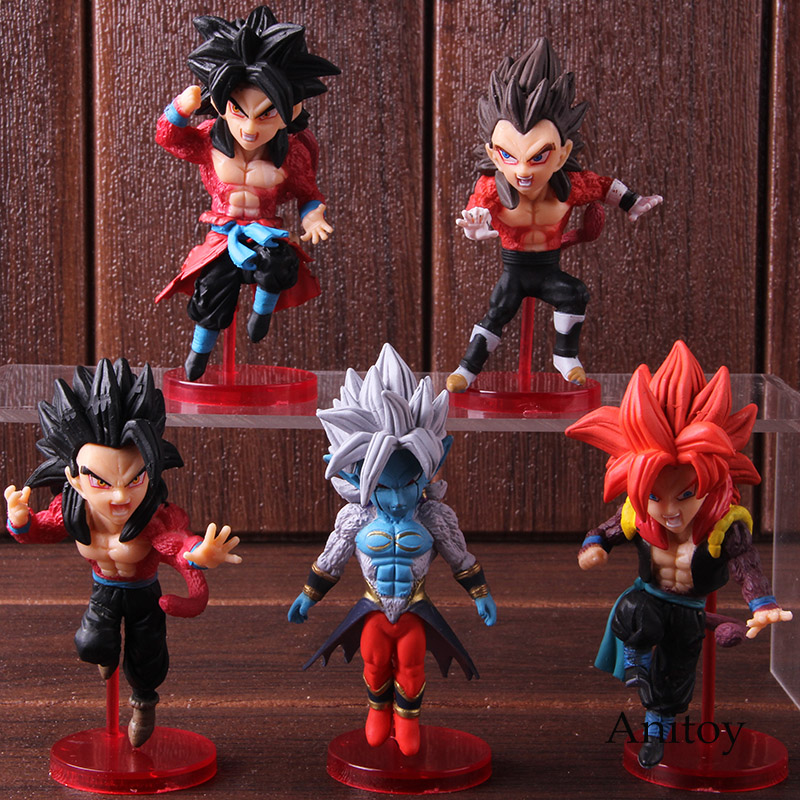 Super Dragon Ball Heroes World Collectable Figure WCF 7th Anniversary Set 5 type