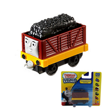 x067 THOMAS and friend Troublesome truck The Tank Engine take along Magnetic train metal hook toy Children gift packaging(China)
