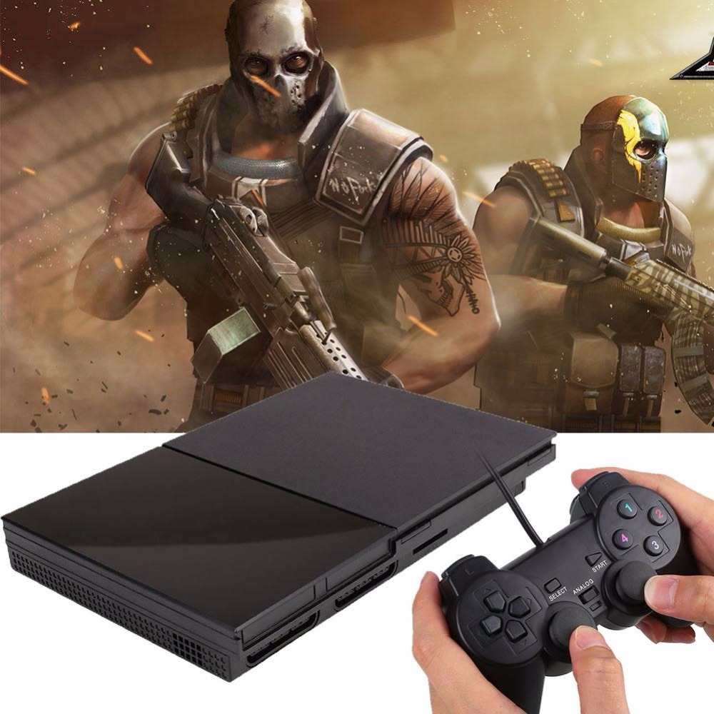 Children Video Game TV Double Handle Games Handheld Gaming Player Support for PS2 Game Consoles To TV<br><br>Aliexpress