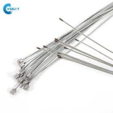 10pcs/lot Stainless Steel Bike Brake Cable Road Shift Cable For Bicycle Derailleur line Inner wire core Cable accessories parts