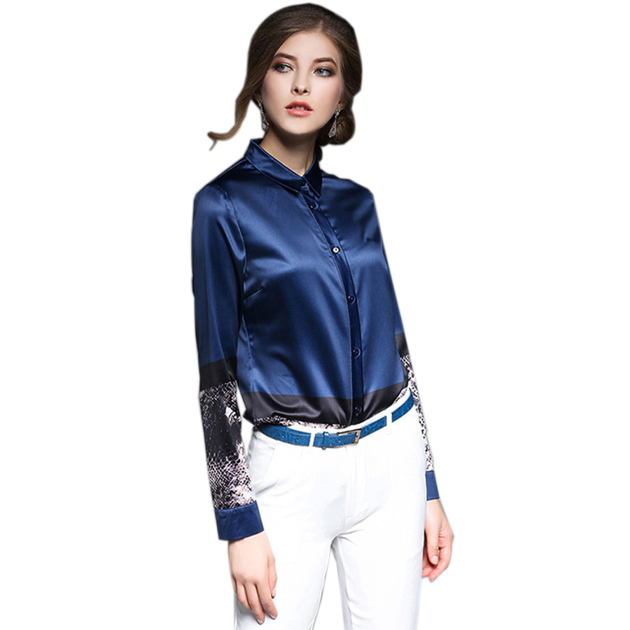 Compare Prices on Womens Satin Shirt- Online Shopping/Buy Low ...
