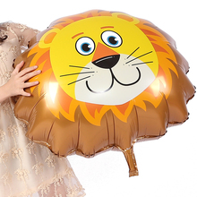 Cute Lion Balloon, Cartoon Foil Birthday Party Balloon Airwalker Ballons for Kids Baby Toys Holiday Graduation Decoration