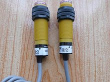 New Omron Beam Photoelectric Switch Sensor( 5m DC 3 Wire NPN NO E3F-5DN1 Receiver) & ( DC 2 Wire NPN NO E3F-5L Transmitter)