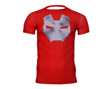 Men Marvel Advengers Superhero Superman/Batman/Captain America Shirt Male Trainning Tees  3D Digital Printed T shirt Homme