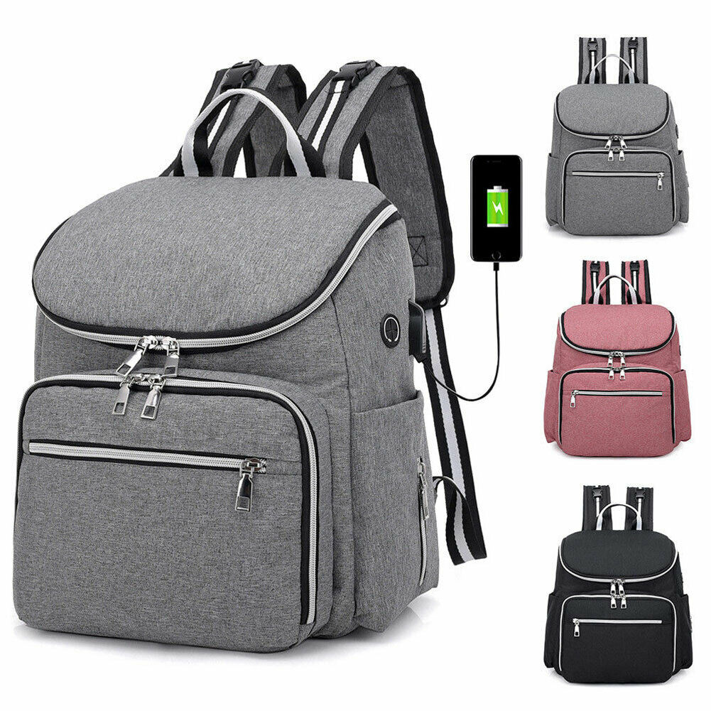 Travel Nappy Bag Bottle Organizer Pouch Mum Bag Large Capacity Tote Multi Use