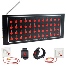 48 Channel Wireless Calling System Emergency Paging System for Hospital Nurse Patient F4401A(China)