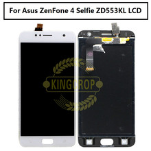 For Asus Zenfone 4 Selfie ZD553KL LCD display Monitor Touch Screen Panel with Digitizer Front Glass Assembly parts free ship