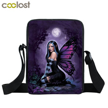 Magic Fantasy Fairy Witch Mini Messenger Bag Boys Girls School Bags Women Vintage Handbag Cross Bag Kids Gift Bags Bookbag