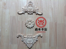 Do not forget to log in Dongyang wood trim round flower floral decoration Central European Style Fireplace window table flowers.