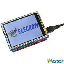 "Elecrow 2.8 Inch TFT Touch Shield V4.3 for Arduino Mega 240x320 LCD Modules 2.8"" TFT Display with SD Card DIY Kit"