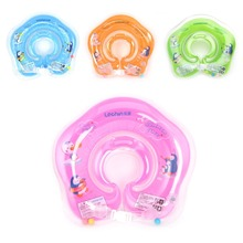 New Inflatable Circle Newborn Neck Float Infant Baby Swimming Ring Safety Child Toys(China)