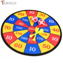 TOFOCO Boomerang ABS Darting For Kid Children Toys Flying Toys Fabric Dart Board Set Kid Ball Target Game Throwing Sport