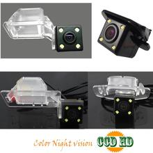 ccd HD 4 LEDS Car rear view parking Camera for Great wall hover Florid cross H3 M3 C50 H5 H6 C30 Cowry Cowr V80 reversing camera