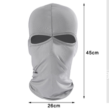 Balaclava Mask Ultra Thin Motorcycle Bike Winter Under Helmet Hat Winter Warm Neck Warmer Ski Neck Gaiter Outdoor Windproof Hat(China)