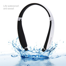 vodool Wireless Bluetooth 4.0 Earphones Waterproof Stereo Earphone With Micro Mp3 Player for Mobile Phone Ipad Laptops Computer