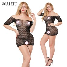 Buy Hot Women Sexy Bodystocking Crotchless Body Stocking Sexy Lingerie Fishnet Bodysuit Sexy Underwear Black Porn Erotic Sex Clothes