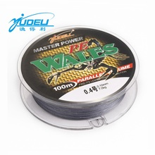 YUDELI Dyneema WALES Braided fishing line 100M PE 0.1-10.0number .Shark line. Sea fishing line fishing gear(China)