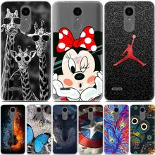 "For Lg K4 2017 case silicon cover cartoon painting TPU case For LG K4 2017 European Version 5.0"" phone cases funda Lg X230 cover"