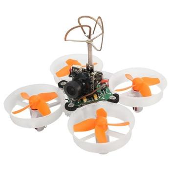 Lo nuevo E010S Eachine 65mm Micro FPV Quadcopter de Carreras Con 800TVL CMOS Basado en F3 Cepillo Controlador de Vuelo