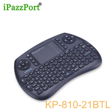 ipazzport 2017 New Mini Wireless Bluetooth Keyboard backlight Air Mouse BT4.0 for tablet game Android/Google TV BOX ipad