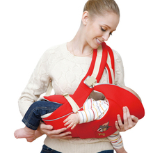 0-24 Months Ergonomic Baby Carrier Front Facing Horizontal Back Carry Baby Sling Backpack Breathable Baby Kangaroo Wrap(China)