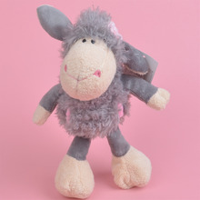 25cm Grey Color Sheep for Cute Baby/ Kids Gift, Lamb Plush Doll Free Shipping