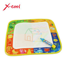 XC8811-1 29X29.5cm Multicolor Mini Water Drawing  Mat doodle Mat & 1 Magic Pen / Water Drawing board / baby play toys