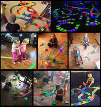 Magical car track toys glow in dark(China)