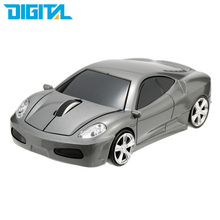 Game Mouse Gamer Mouse Racing Car Shaped Wireless Mouse 1000DPI Mice for Computer PC Laptop 2.4Ghz Optical(China)